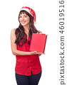 gift box santa 46019516