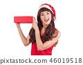 gift box santa 46019518