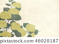 Japanese style background hydrangea 46020187