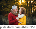 senior, couple, people 46020951