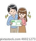 원만한 이혼 젊은 부부 46021273