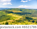Landscape with green sunny hills 46021786