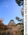 가을의 오사카 성 46027854