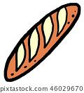 프랑스 빵 46029670