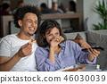 pizza, couple, man 46030039