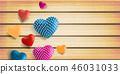 heart valentine background 46031033