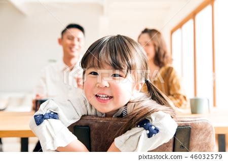 家庭兒童女兒 46032579