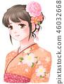 和服 日式服装 女生 46032668