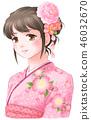 和服 日式服装 女生 46032670