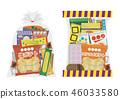 各種各樣的糖果 46033580