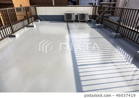Rooftop waterproofing work completed 46037419