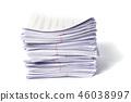 เอกสาร,กระดาษ,กอง 46038997