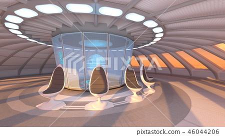 在宇宙飛船裡面 46044206