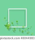 翠綠 鮮綠 框架 46044983