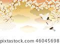 起重机 日式 日本风格 46045698