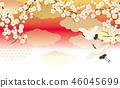起重机 日式 日本风格 46045699