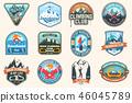 snowboarding, snowboard, mountain 46045789