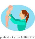 child baby vector 46045912