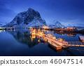 boat, ship, landscape 46047514