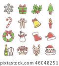 聖誕主題[手寫風格] 46048251