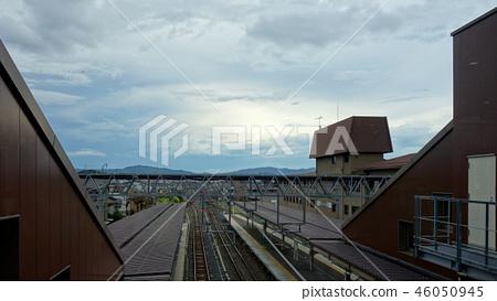 일본 교토 사가 아라시야마 역 Japan Kyoto Saga Arashiyama Station 46050945