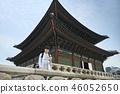 젊은남자, 남성, 경복궁, 서울, 고궁, 여행 46052650