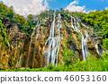 The Veliki Slap Waterfall in Plitvice Lakes National Park, Croatia 46053160