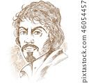 michelangelo painter vector 46054457