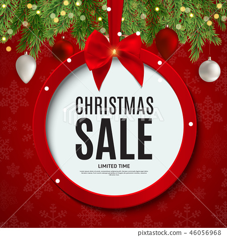 Christmas and New Year Sale Gift Voucher,  46056968