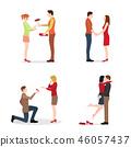 夫妇 一对 情侣 46057437