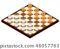 Chessboard glass alcohol 46057763