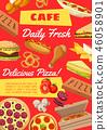 food menu vector 46058901
