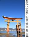 Otori at Itsukushima shrine 46059500