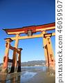 Otori at Itsukushima shrine 46059507