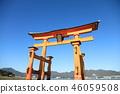 Otori at Itsukushima shrine 46059508
