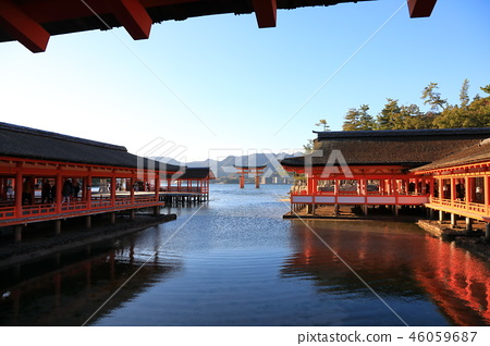 World Heritage, Itsukushima Shrine 46059687