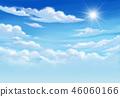 ท้องฟ้า,พื้นหลัง,เมฆ 46060166