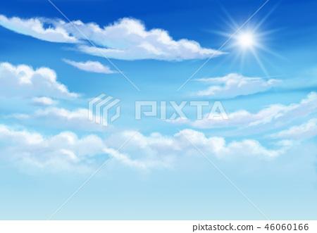 Blue sky so very beautiful daylight. 46060166