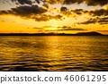 萨罗马湖的日落 46061295