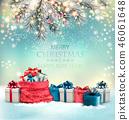 greeting, christmas, gift 46061648