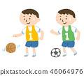스포츠를하는 소년 46064976