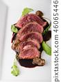 Homemade Beef Steak rare 46065446