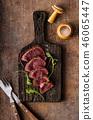 Homemade Beef Steak rare 46065447
