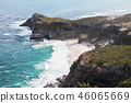 非洲大陆最南端的海角,俯瞰印度洋 46065669