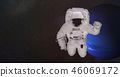 planet astronaut space 46069172