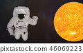 planet astronaut space 46069223