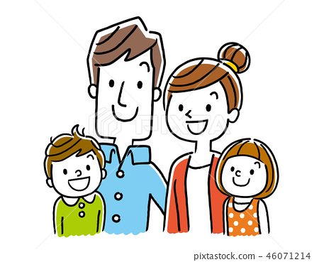 4 people family 46071214