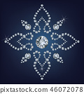 Snowflake made a lot of from diamonds. 46072078