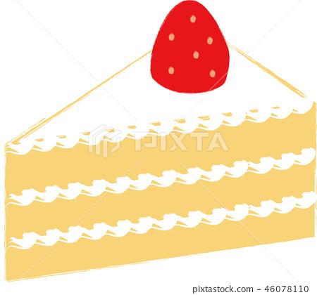 Strawberry short cake 46078110