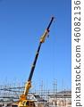 crane, cranes, construction site 46082136